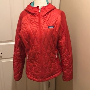 Jackets & Blazers - Patagonia size M red quilted jacket